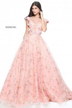 Rózsaszínű Sherri Hill 51104 Ruha