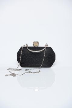 c3a71cb582 Fekete alkalmi táska csillogó díszítések