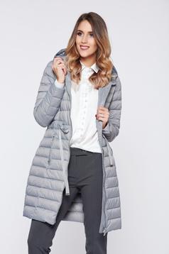 6d9e5ec45f Fehér LaDonna irodai női ing pamutból készült pöttyös