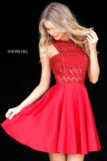 Piros Sherri Hill 51302 Ruha