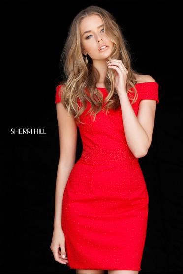 Piros Sherri Hill 51425 Ruha