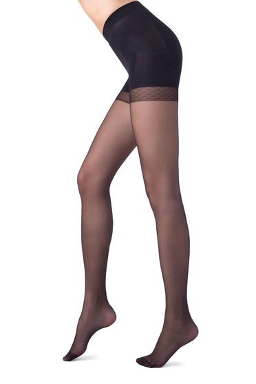 Fekete karcsusito 20 den női harisnyanadrág csuszasgatlo sav