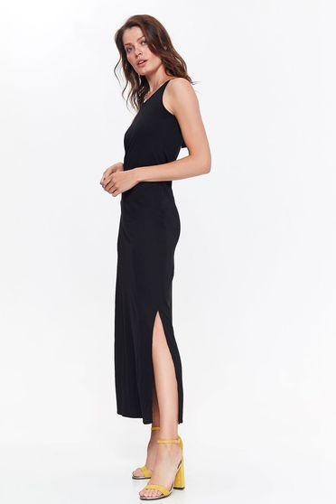 Fekete Top Secret casual bő szabás ruha kivágott hátrész finom tapintású anyag