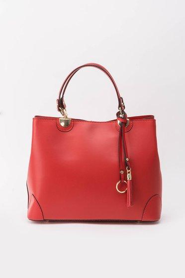 Piros irodai táska hosszú, állítható pánt