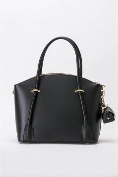 Fekete irodai táska hosszú, állítható pánt
