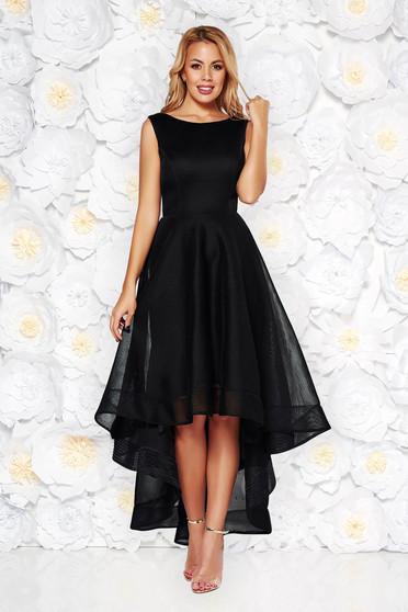 Fekete alkalmi harang ruha aszimetrikus