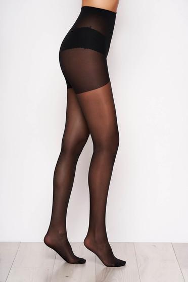 Fekete női harisnyanadrág karcsusito