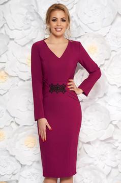 2cb5786a16 Lila LaDonna alkalmi ruha szirén tipusú belső béléssel enyhén ...