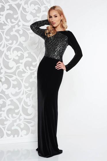 3b2633f5f5 Bársony női ruhák, több kivitelben, online a StarShinerS ...