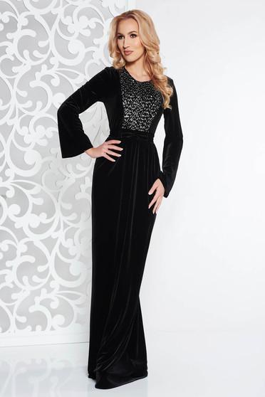 0cc7246b3c Bársony női ruhák, több kivitelben, online a StarShinerS ...