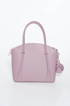 Lila irodai táska két rekesz és belső zsebek