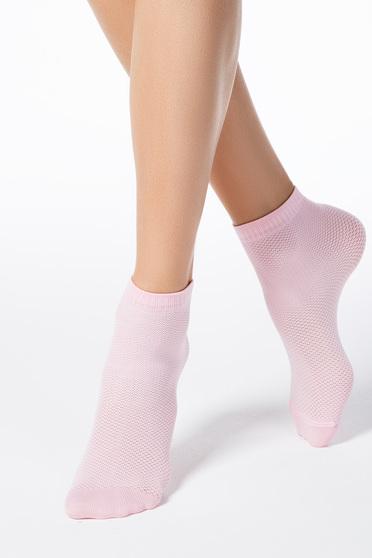 Világos rózsaszín harisnyák & zoknik rugalmas anyag háló típus