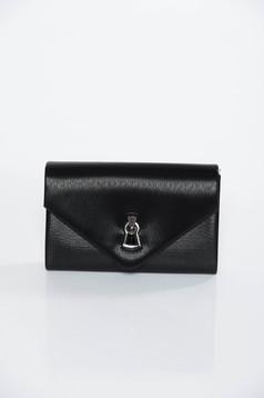 Fekete alkalmi műbőr táska
