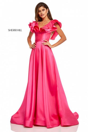 Pink Sherri Hill 52595 Ruha