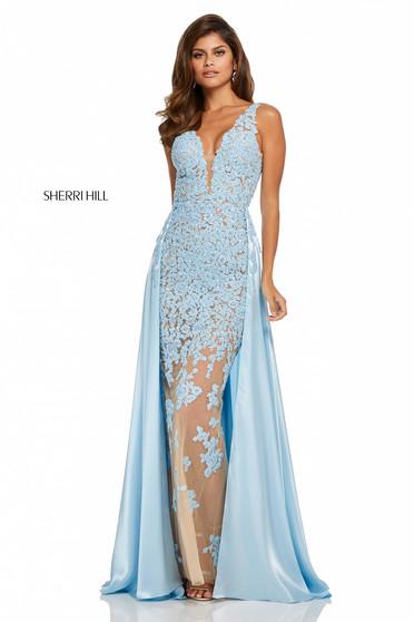 Kék Sherri Hill 52599 Ruha