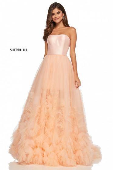 Rózsaszínű Sherri Hill 52693 Ruha