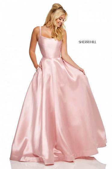 Rózsaszínű Sherri Hill 52715 Ruha