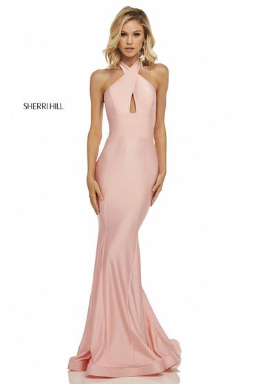 Rózsaszínű Sherri Hill 52784 Ruha