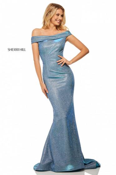 Kék Sherri Hill 52825 Ruha