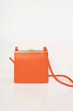 Narancs party műbőr táska