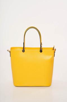Sárga irodai táska hosszú, állítható pánttal