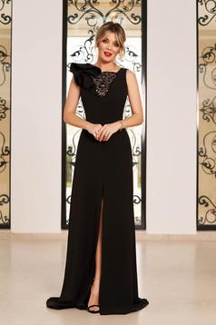 Fekete StarShinerS luxus ruha