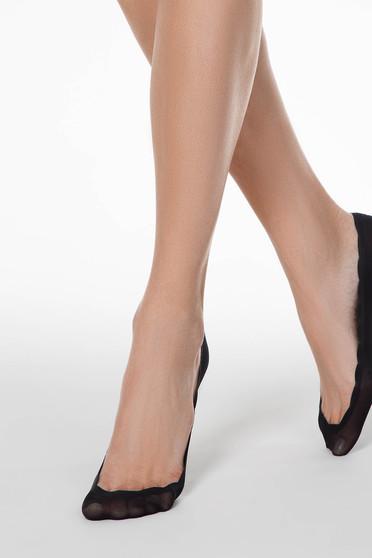 Fekete zokni rugalmas pamutból