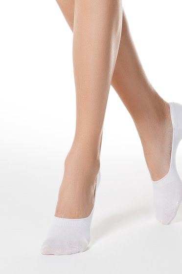 Fehér zokni rugalmas pamutból