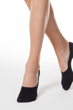Fekete harisnyák & zoknik rugalmas pamut