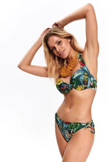Fekete Top Secret fürdőruha alsó rugalmas anyag állítható bikini