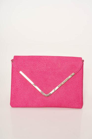 Pink casual műbőr táska