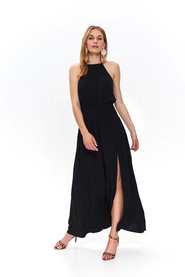 Fekete ujj nélküli harang ruha
