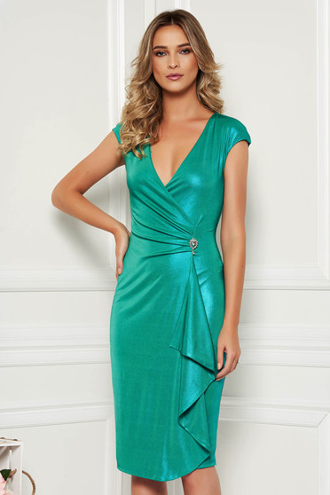 Zöld StarShinerS ruha