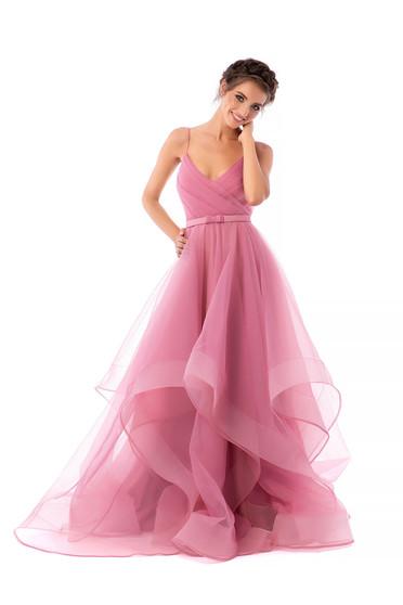 Világos rózsaszínű Ana Radu ruha luxus