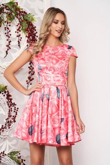 Pink alkalmi harang ruha szatén anyagból béléssel