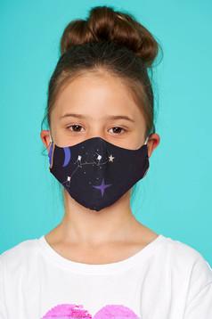 Sötétlila StarShinerS védőmaszk