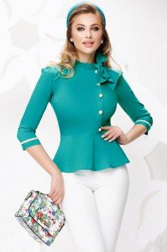 Türkizzöld női ing
