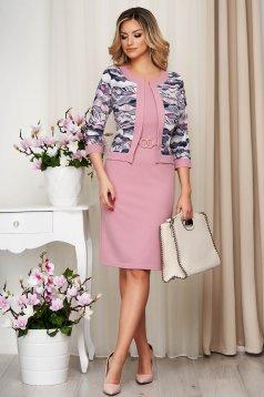 Pink ceruza ruha enyhén rugalmas anyagból