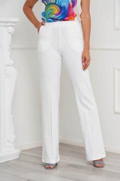 Ivoire StarShinerS zsebes bő szabású casual nadrág