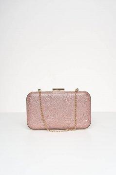 Pink táska alkalmi csillogó díszítések